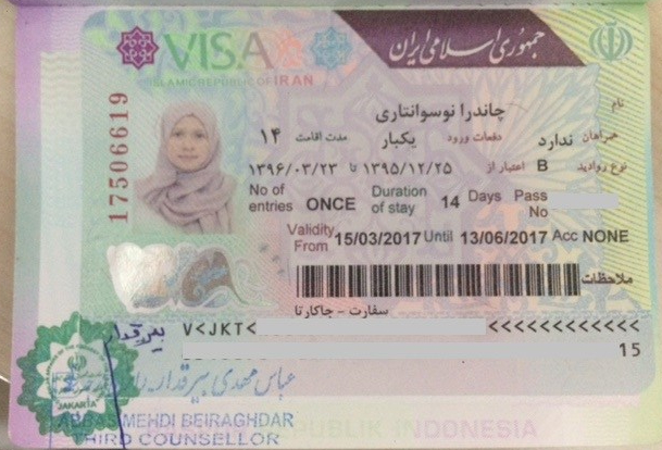 paspor Iran